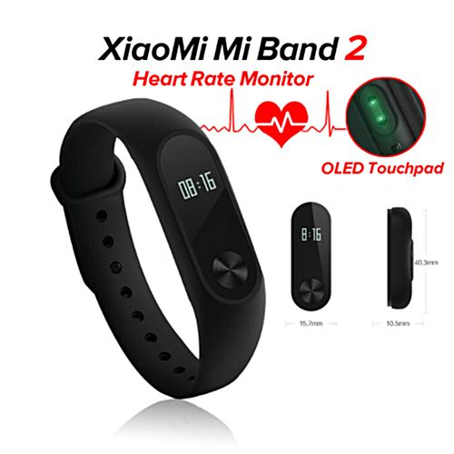 Buy xiaomi band smart watch with bluetooth black