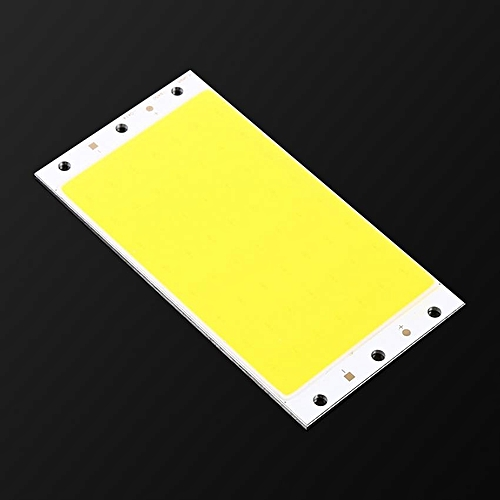 12V-14V 30W Durable COB LED Ultra Bright Light Lamp Band Bead Chip DIY 94*50MM Pure White 6500K