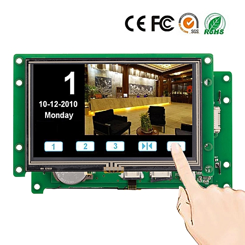 4.3 Inch Intelligent Display Module With RS232/RS485/TTL