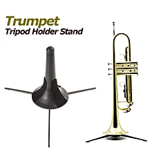 Portable Trumpet Tripod Holder Stand With Detachable Metal Leg