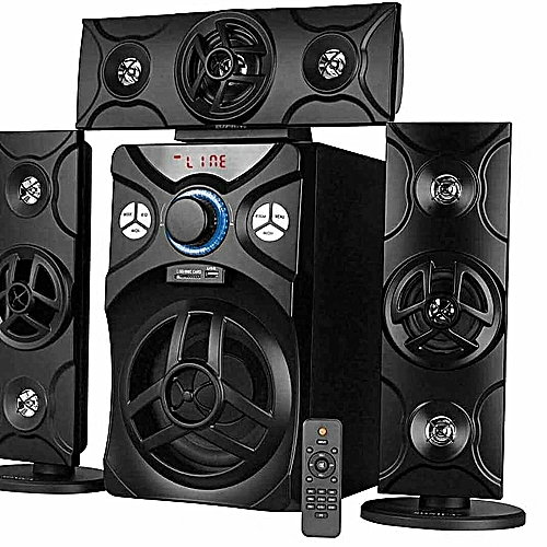 Wonderful Home Theatre System With Bt Conection
