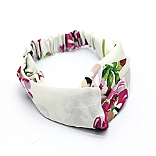fc35e2fa9b2 Twist Headband Turban Elastic Hair Band Accessories - White