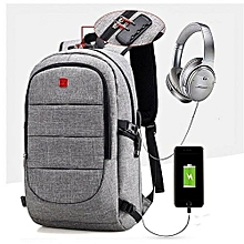 a6cf9cd2120c 2018 New Anti Theft Smart Bag With Password Lock + Headset Jack With USB  Charging Port