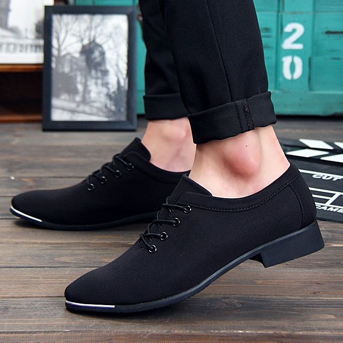 81aef0f03f505 2018 New Comfortable British Leisure Formal Shoes Men Business Casual Shoes