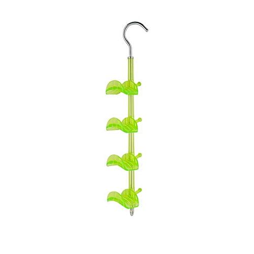 Creative 360-degree Rotating Hanging Rack Hook Storage Shelf Clothes Scarves
