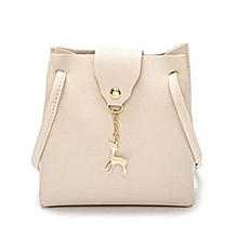 c054641f78a0 Women Handbag Solid Color Shoulder Bag Storage Bag With Adjustable Strap