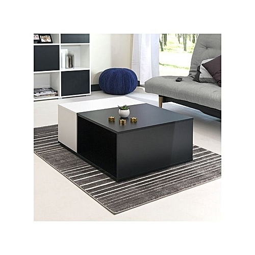 Simple Nice Center Coffee Table (Black And White) DELIVERY WITHIN LAGOS ONLY