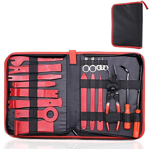 19 Pcs Trim Removal Tool Set , Car Panel Removal Tool, Auto Trim Removal  Tool Kit With Storage Bag
