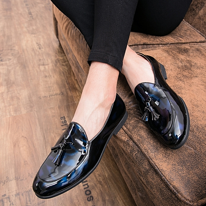 c913186b30d Men Tassel Casual Loafers Luxury Oxford Leather Shoes Wedding Business  Formal Shoes For Men