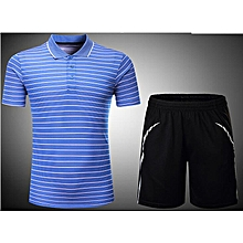 Women New Arrival Stripe Badminton Jersey Quick-Dry Training Breathable  Jersey Shirts And Shorts Set 65314d2b0