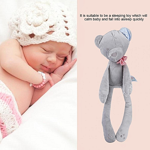 Baby Girl Boy Cute Animal Style Soft Stuffed Plush Doll Calm Sleeping Toy Kids Children Gift
