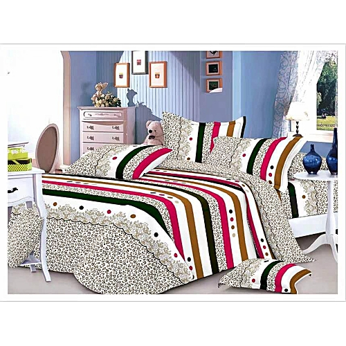 Bed Spread And Duvet With 4 Pillow Cases