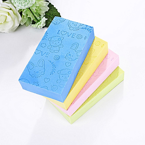 Sponge Massage Multi Bath Shower Exfoliating Body Cleaning Scrubber