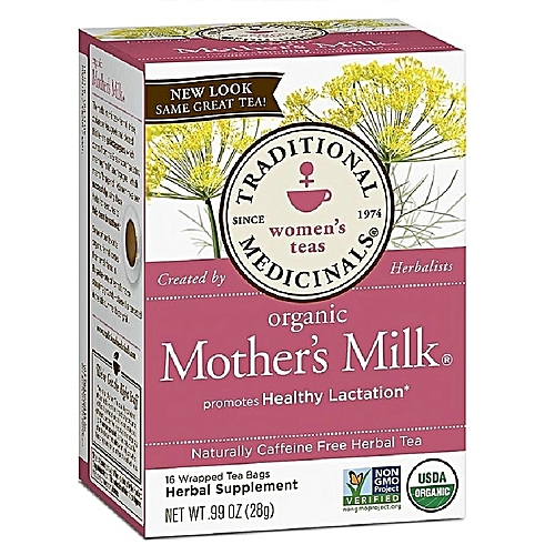 Organic Mother's Milk® Herbal Tea -- 16 Tea Bags