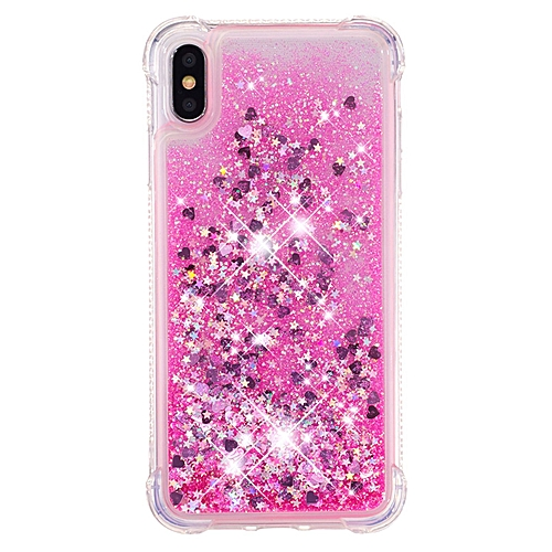 abaf7b826c Generic IPhone XS Max Case,[Gradient Quicksand Series] Bling Flowing Liquid  Floating Soft TPU Cute Case For Apple IPhone XS Max 6.5