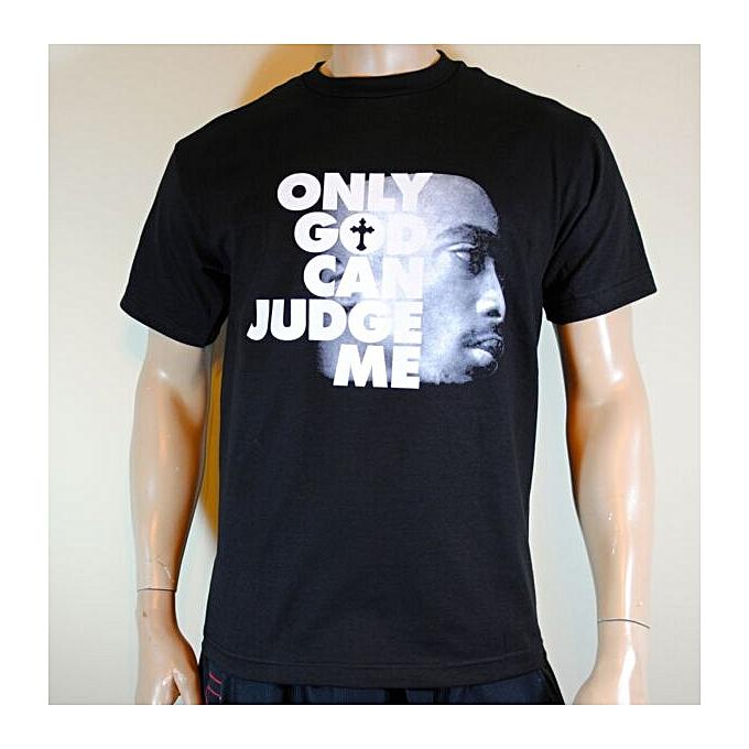 kinder große Auswahl an Farben und Designs Brandneu Tupac Shakur Only God Can Judge Me Mens T Shirt 2Pac Tee