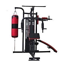Three-Station Multi Purpose Gym All In One Heavy Duty Punching Bag Stand Boxing Trainer for sale  Nigeria