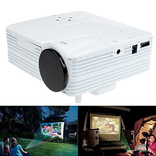 HD 1080P Home Cinema Theater LED LCD Projector PC AV TV VGA