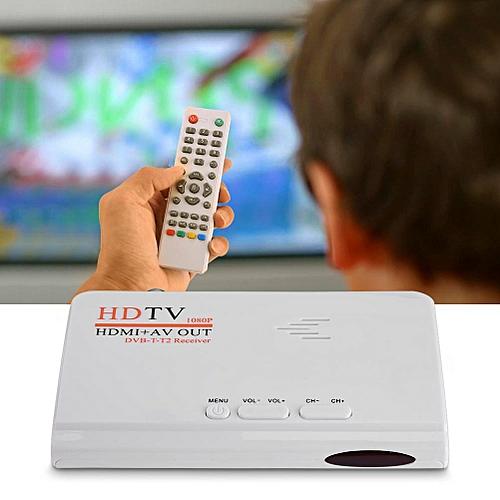 Digital 1080P HD HDMI DVB-T2 TV Box Tuner Receiver Converter Remote Control UK