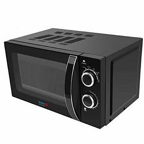 20 Litre Microwave Oven With Grill - Black