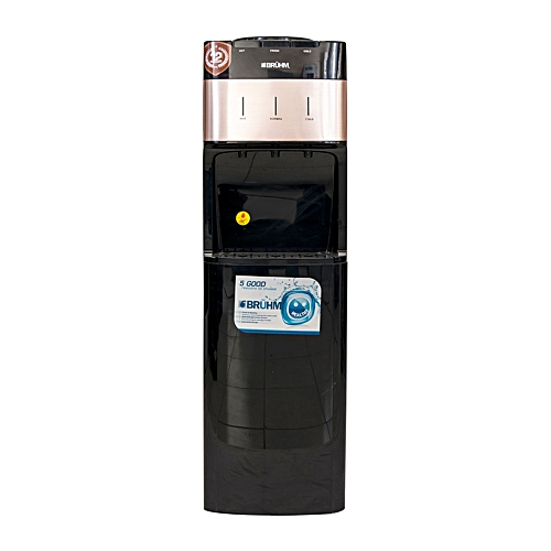 3 Tap Water Dispenser With Fridge - BWD-HNC1196R