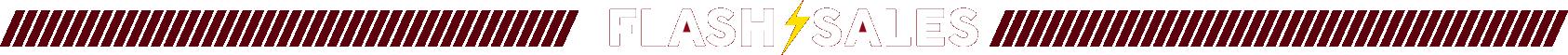 flash sales strip