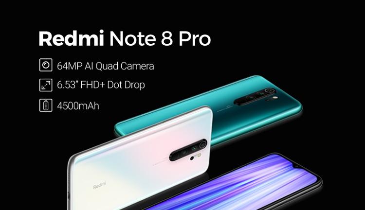 xiaomi  redmi note 8 Pro - official xiaomi jumia store