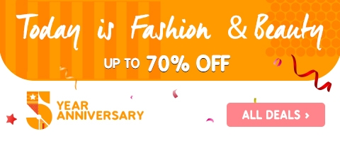 Jumia Fashion And Beauty Deals Of The Day (05-July-2017)