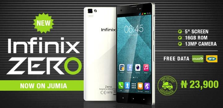 buy infinix zero on Jumia