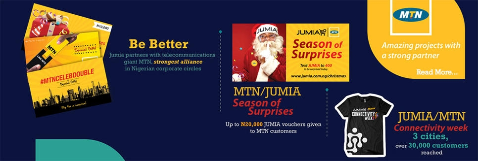 jumia & mtn partnership