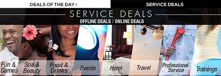 service deals