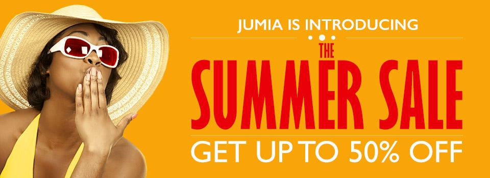 Summer sale on Jumia