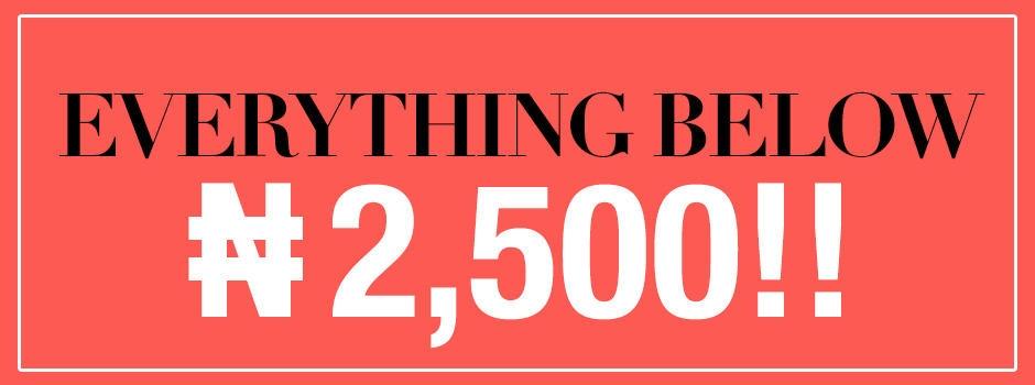 Everything Under N5000