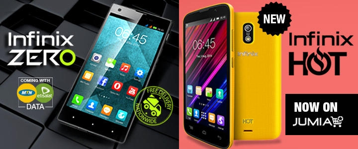 Infinix phones on Jumia
