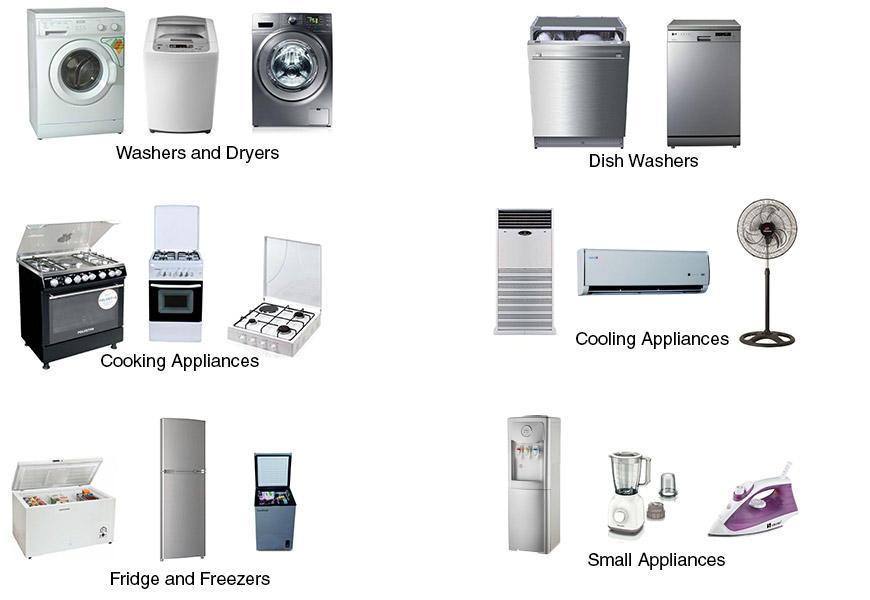 appliances on Jumia