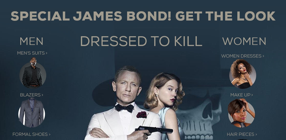 james bond spectre look