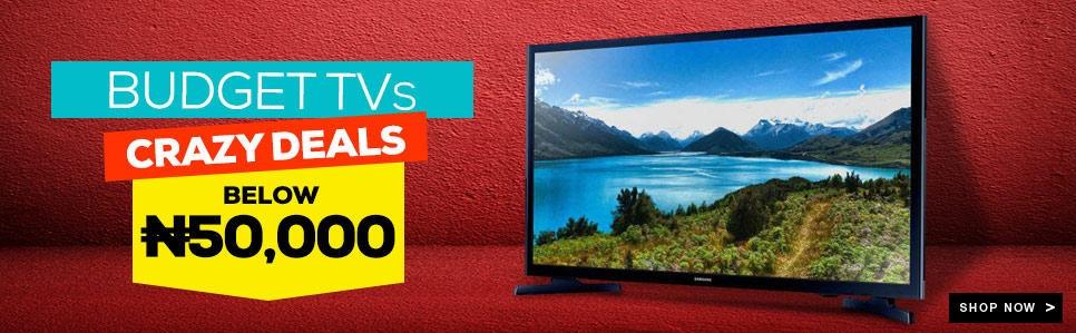 buy televisions on Jumia