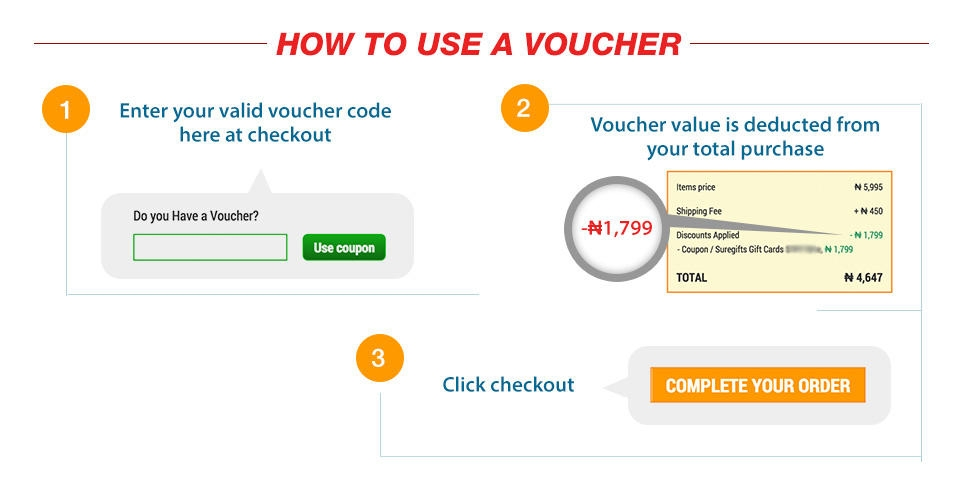 shopping on jumia with voucher