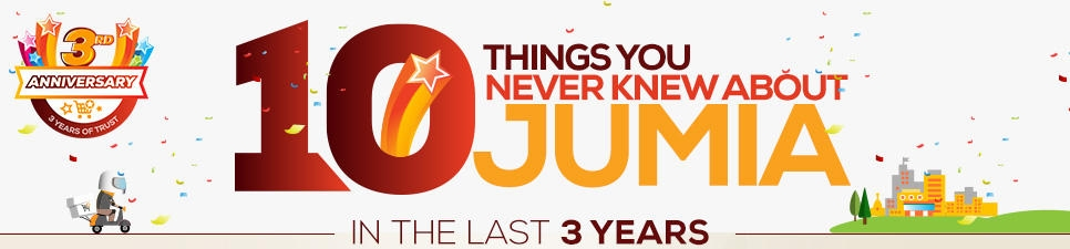 jumia 3rd anniversary