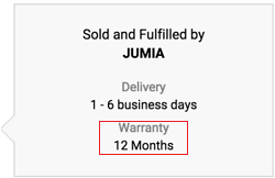 Warranty - Jumia Nigeria