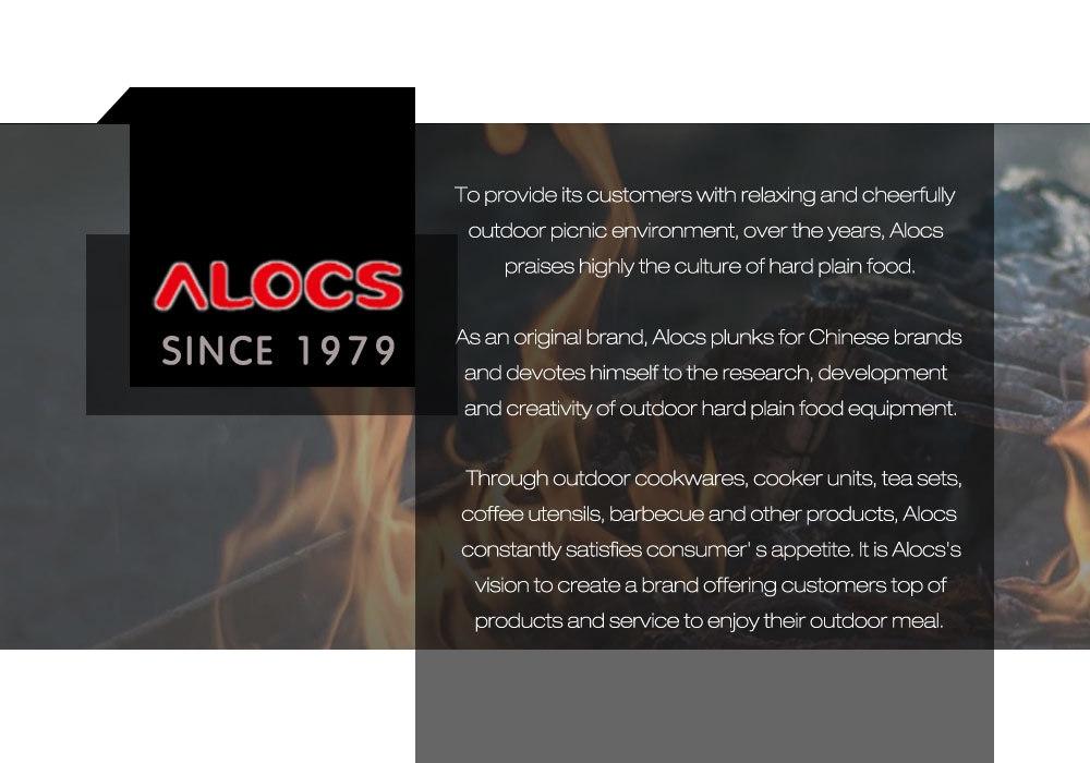 ALOCS CW - G03 Camping Pot Pan Bowl Gripper for Cookware Picnic Handle Clip
