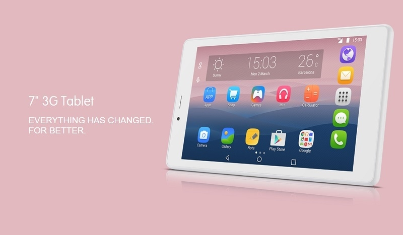 "Alcatel Pixi 4 7"" Quad Core Tab Specifications"