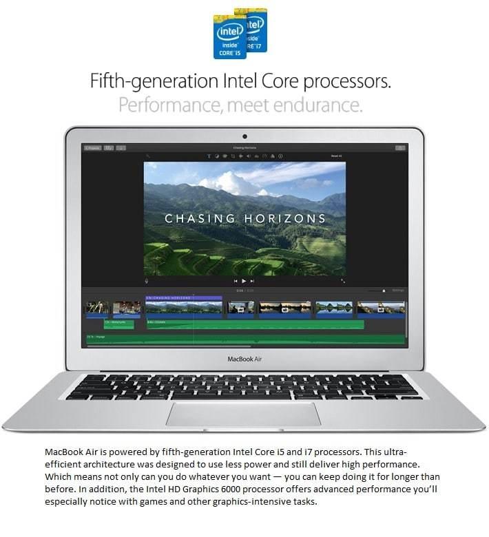 MacBook Air Processor Information