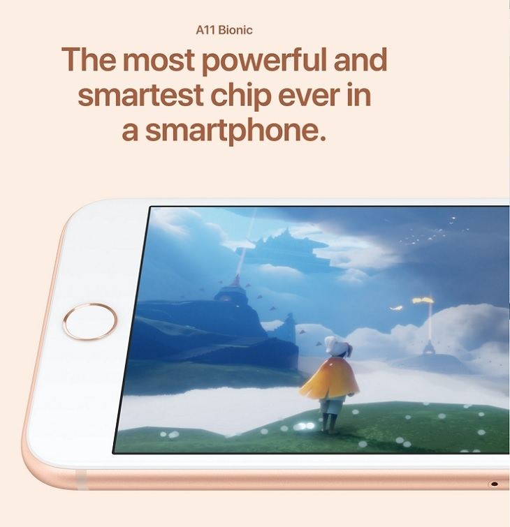 Apple iPhone 8 powerful chip