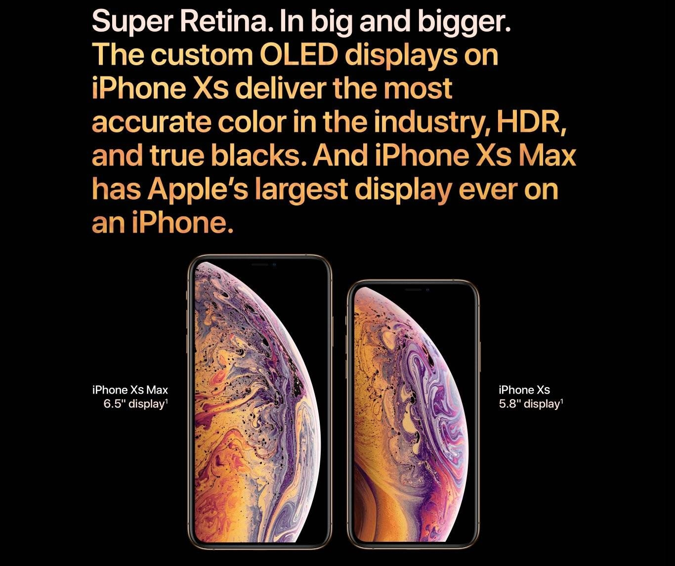 Apple IPhone XS Max (4GB RAM, 256GB ROM) IOS 12 (12MP + 12MP)+7MP With Tempered Glass - Space Grey
