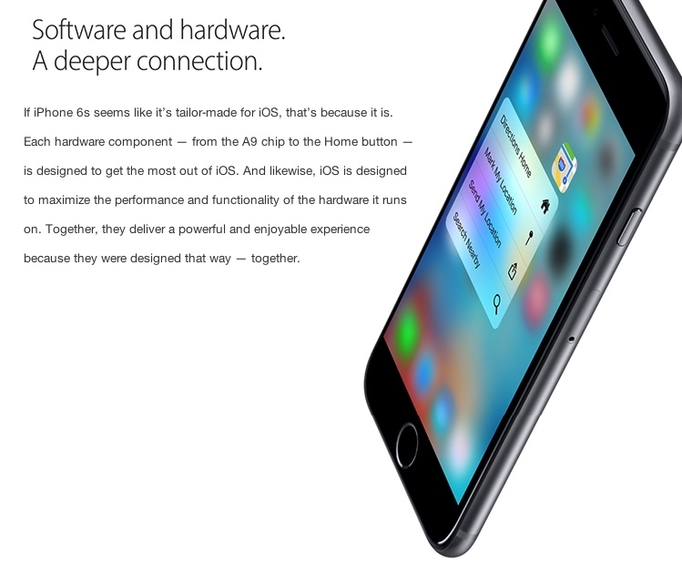 iphone 6s iOS9 software