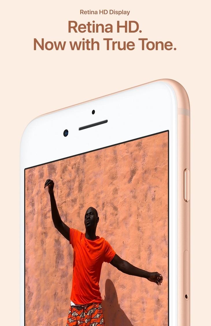 Apple iPhone 8 retina hd display