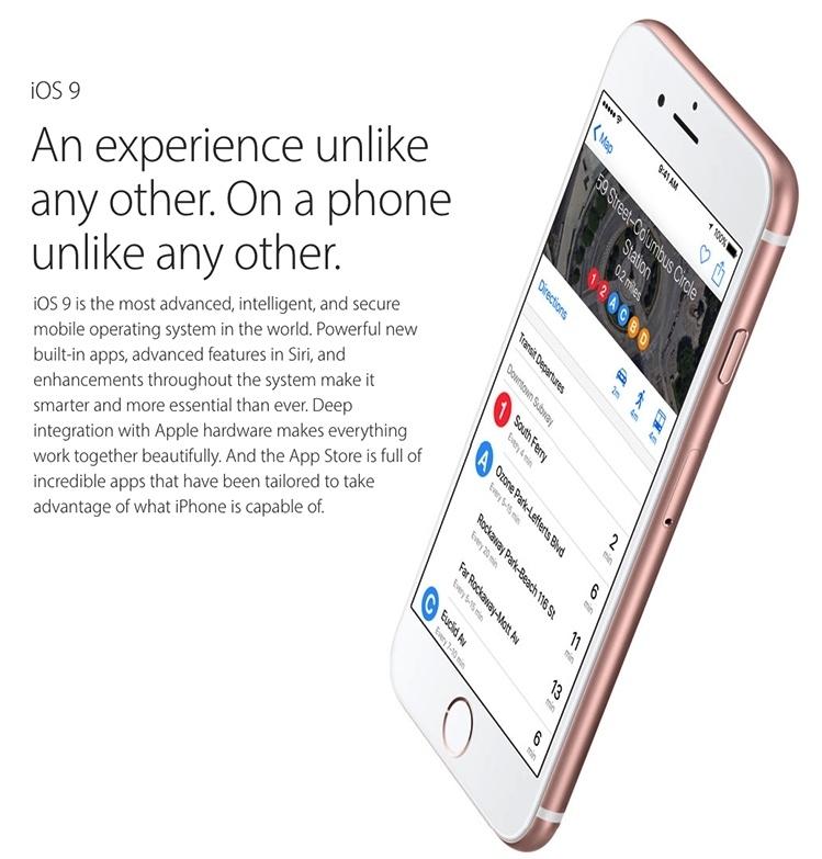 iPhone 6S iOS9 The Evolution