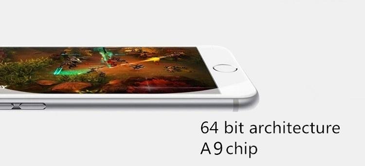 翻新手机iphone 6s 64GB + 2GB 12MP + 5MP 4.7英寸带指纹苹果iphone6s解锁空间灰色7