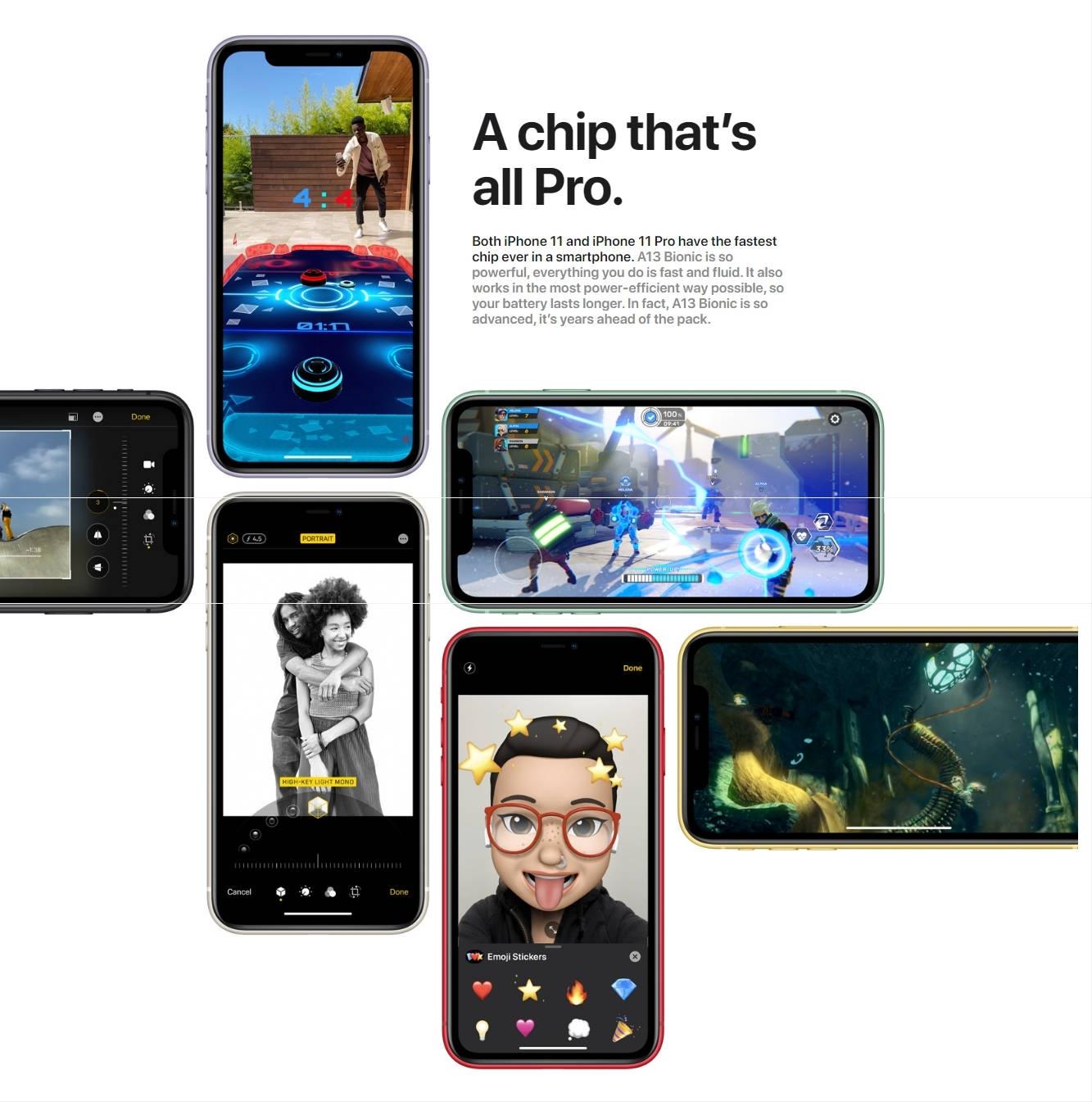 Apple IPhone 11 Dual SIM With FaceTime Black 128GB 4G LTE-HK Specs
